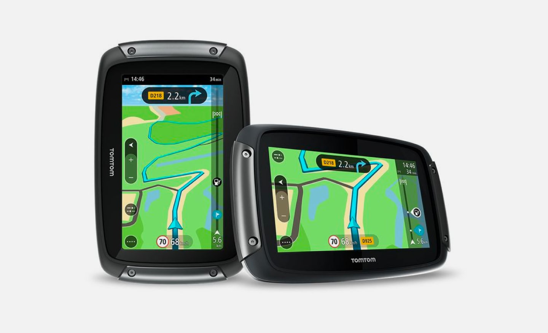 Navegador GPS para moto TomTom Rider