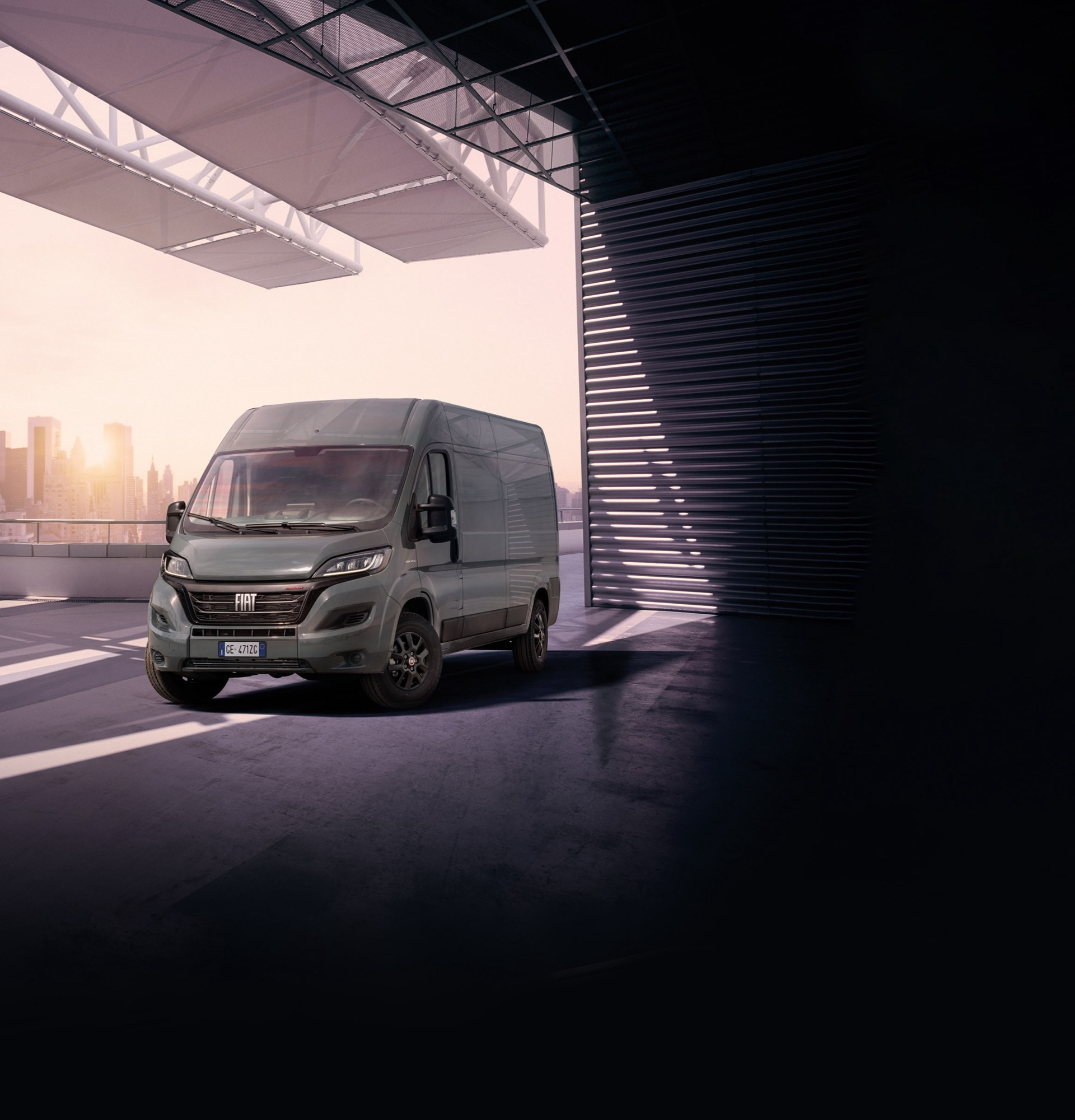 Fiat Ducato drivers are on the right road with custom commercial vehicle navigation from TomTom