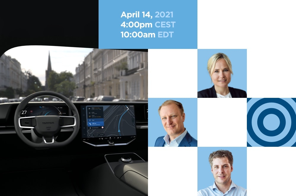 Cloud-native in-dash navigation from the experts: Introducing TomTom Navigation for Automotive