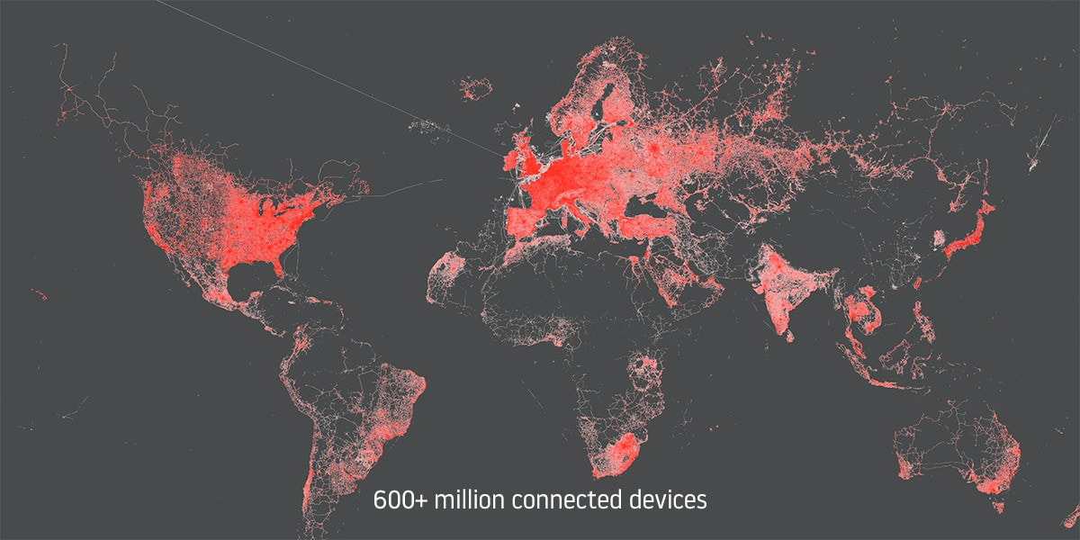 Industry's largest probe network