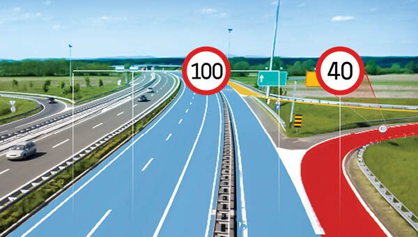 ADAS map speed limits