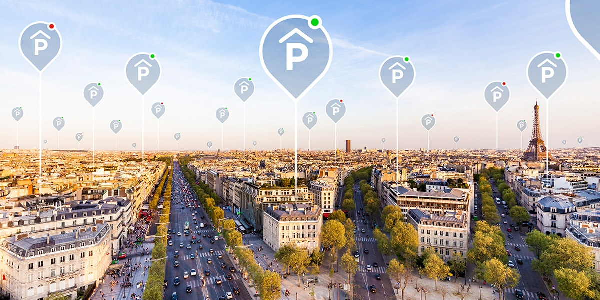 Real-time parking availability
