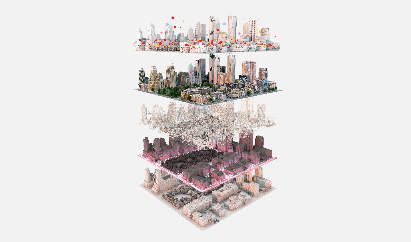 TomTom's HD maps are made of numerous layers, each bringing more detail than the last. They're now so comprehensive that they're being used in automated vehicles.