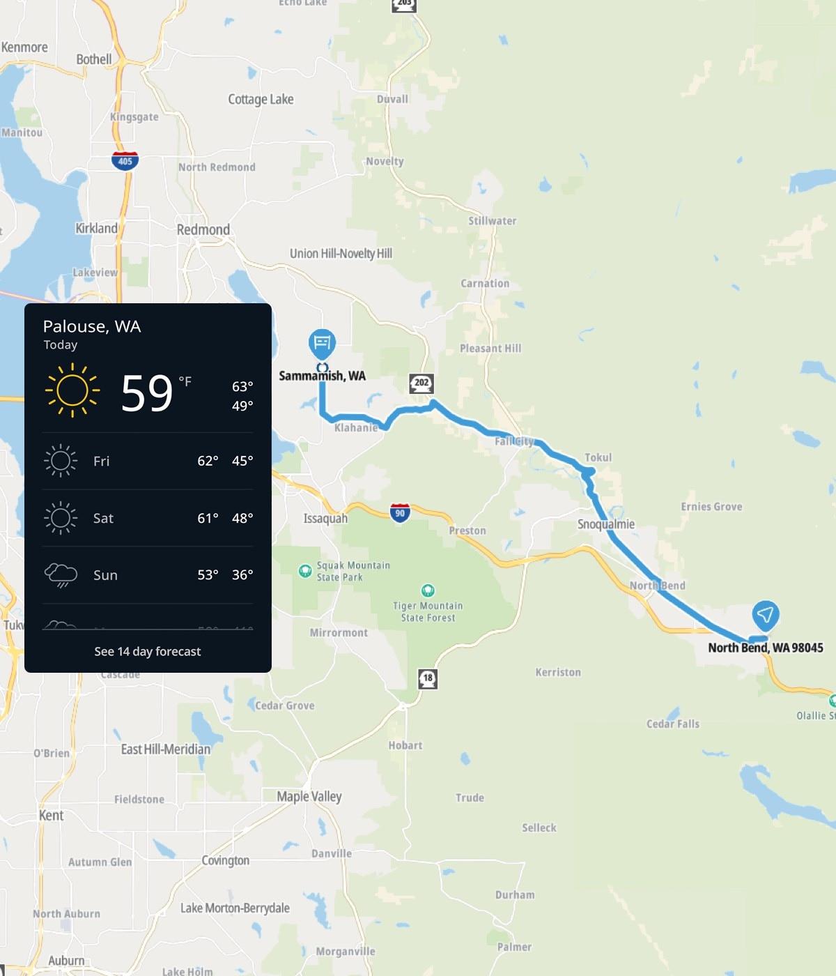 Tabular Weather API