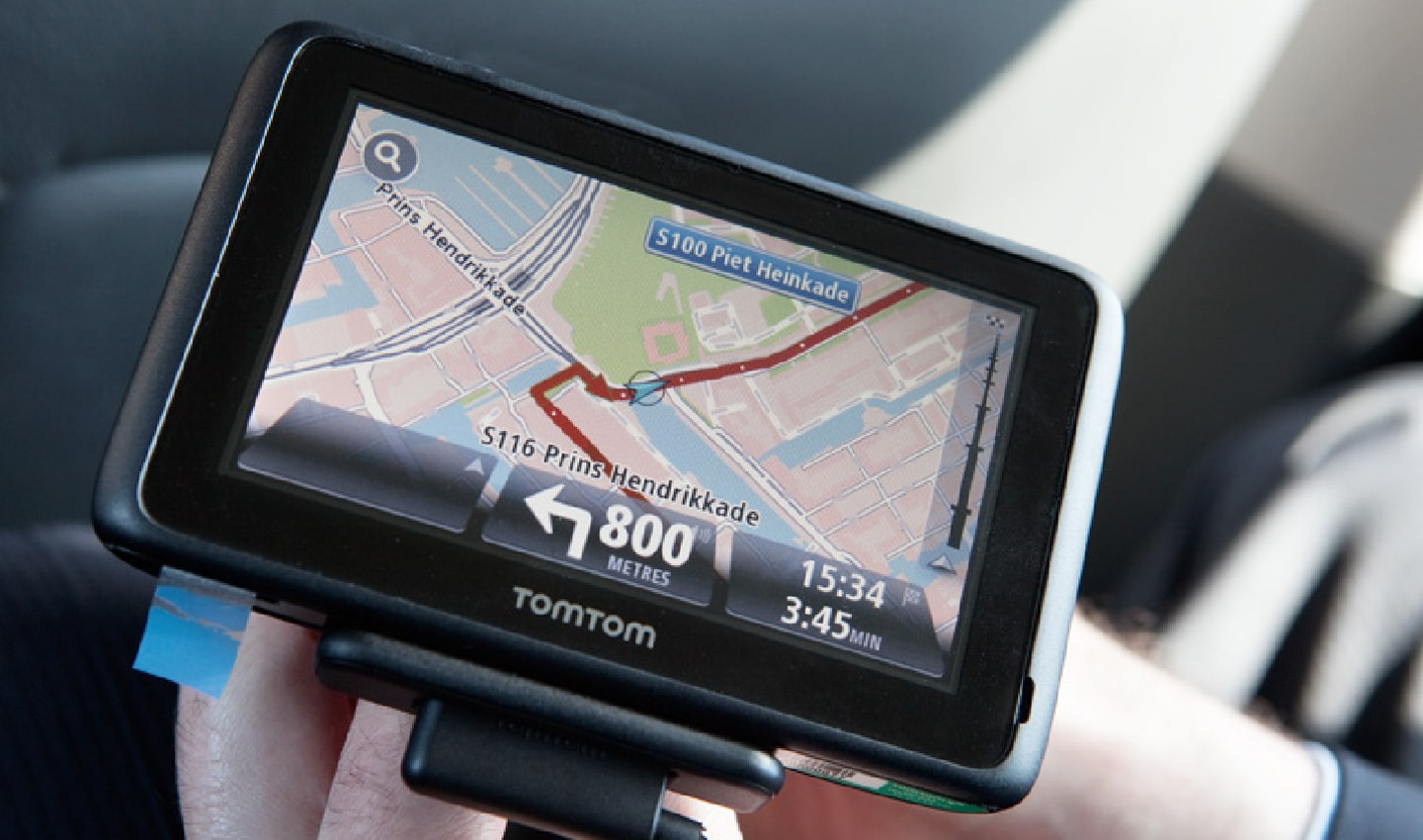 The TomTom GO was a neat, accessibly, and affordable device