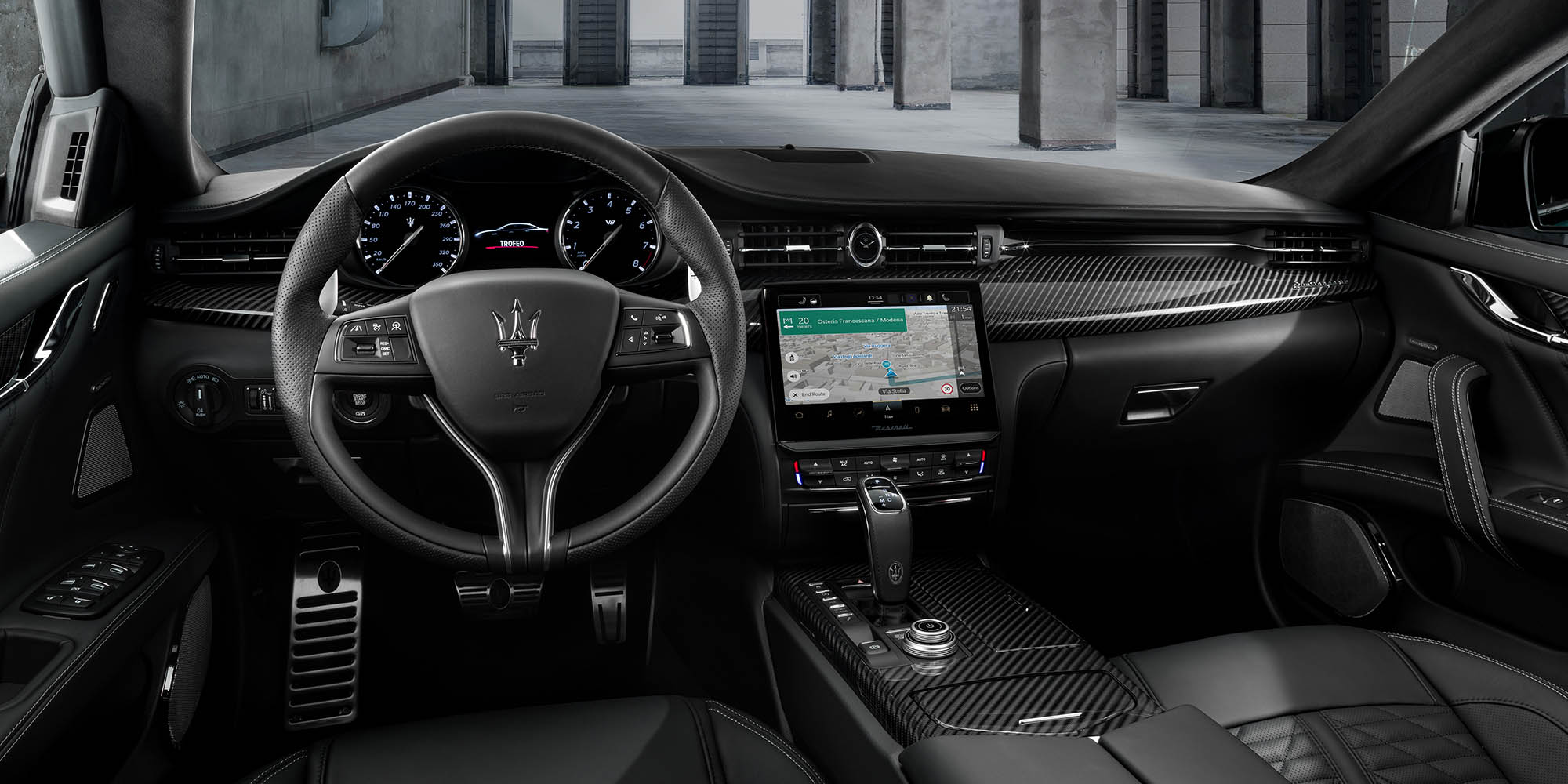 Maserati in-vehicle navigation