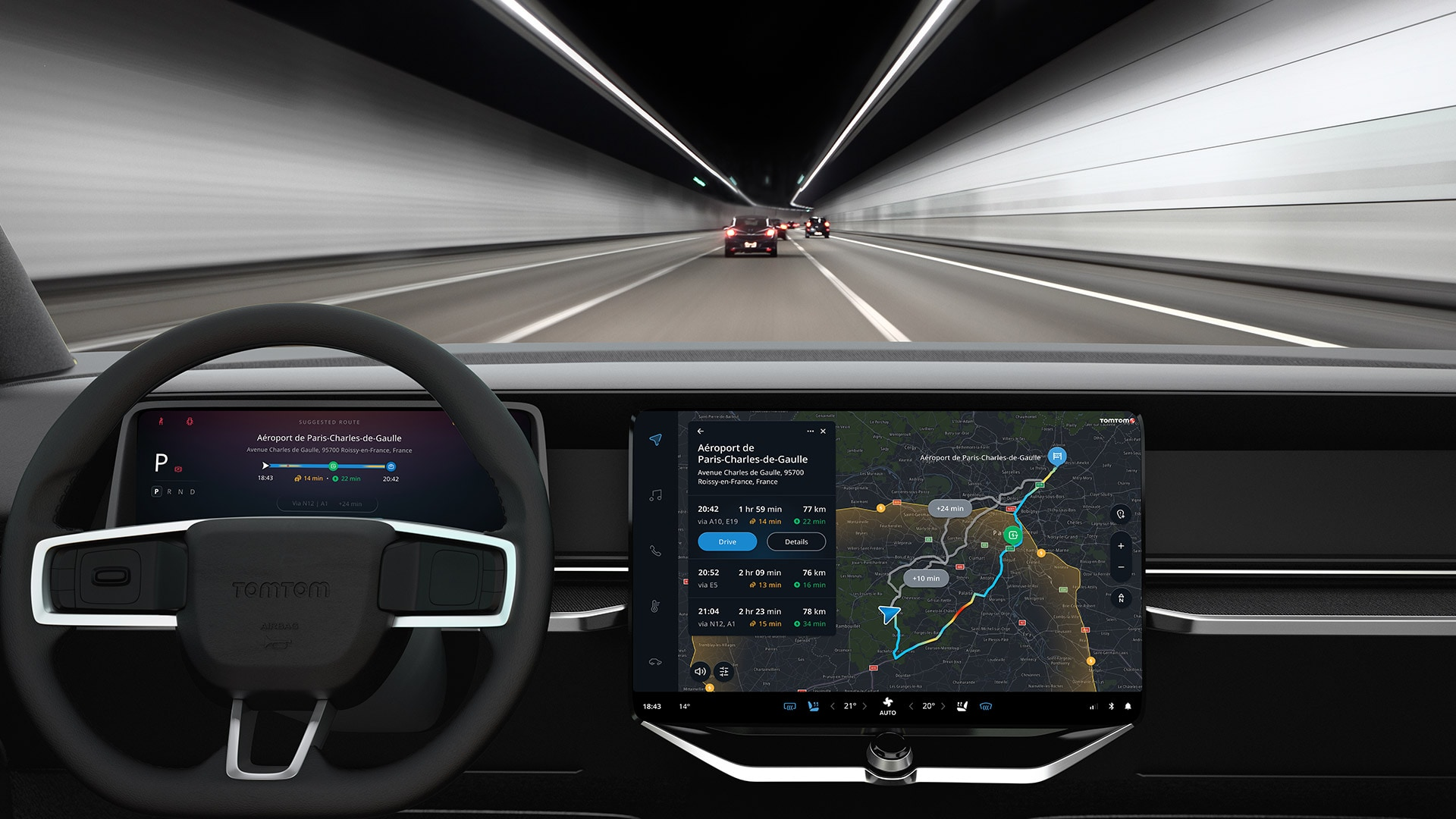 TomTom is driving the EV revolution with Hubject and Eco-Movement