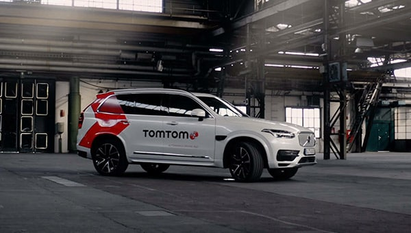 TomTom's autonomous test vehicle