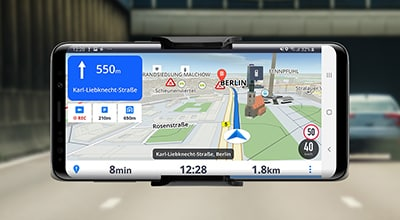 How Sygic navigation solutions use TomTom map and traffic data to show drivers the way