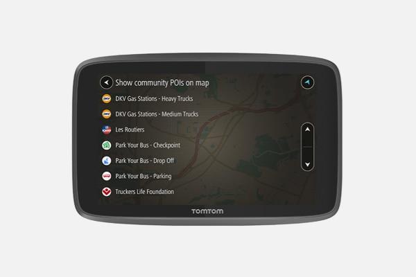Nawigacja GPS TomTom GO Truck Professional