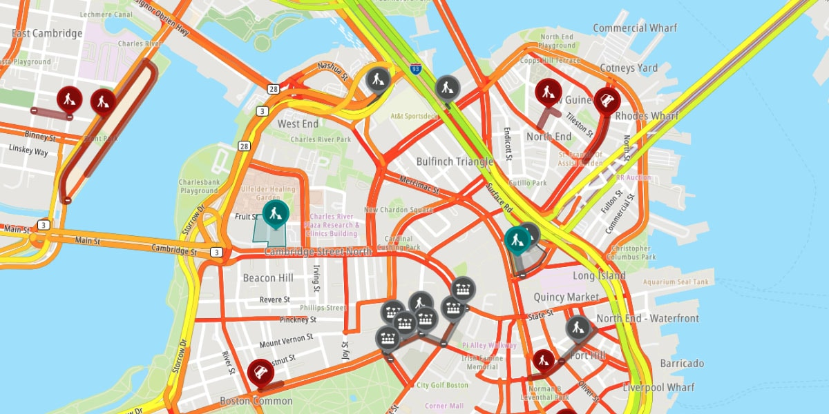 Traffic flow and Incidents