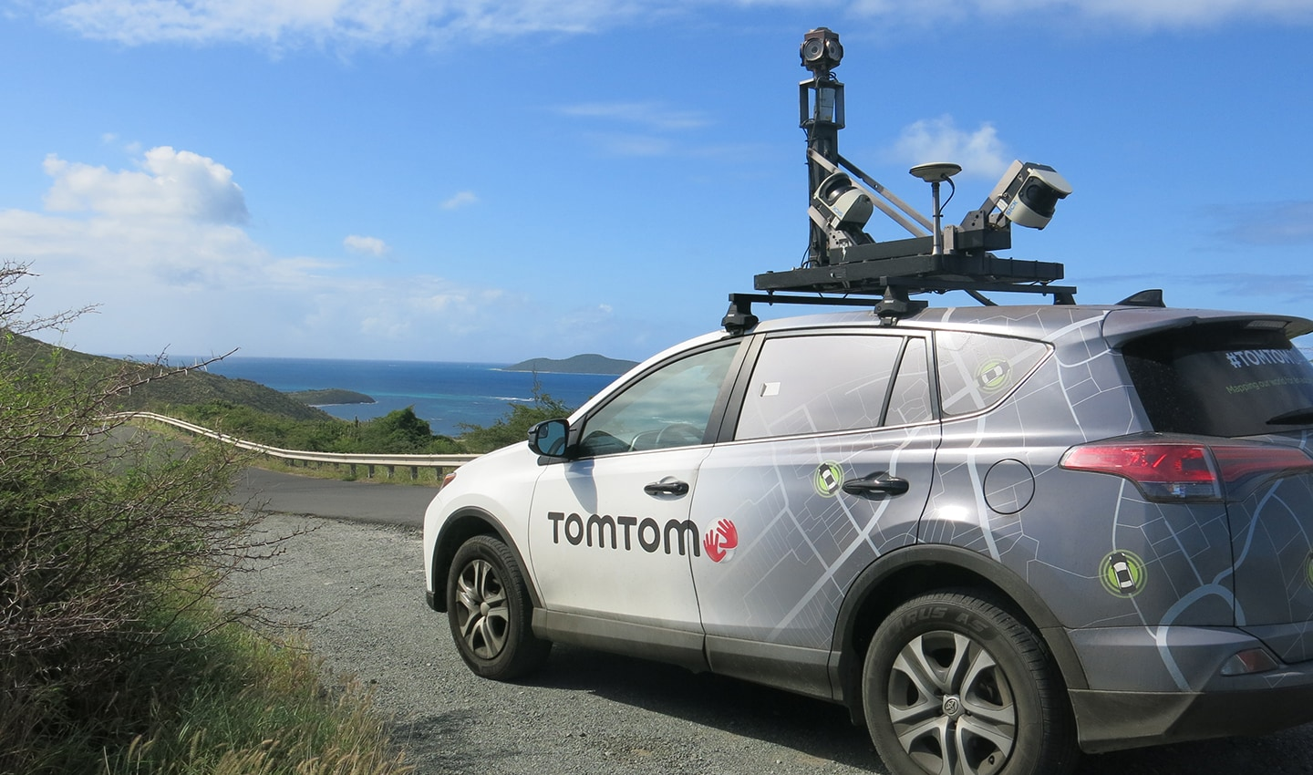 As a TomTom mapping car driver, Carl has experienced some of the world's most picturesque roads. In some cases, he drives routes that even the locals don't know about.