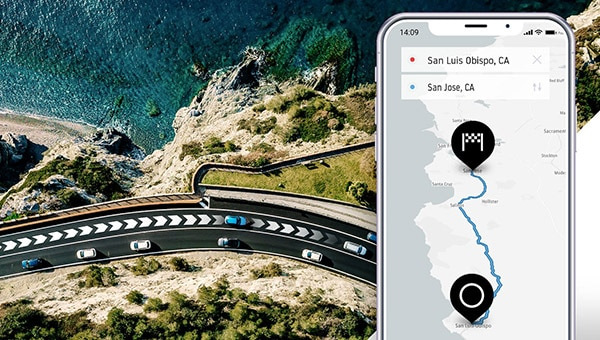 TomTom Routing API for Estimated Time of Arrival