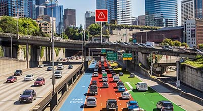 Historic and real-time data make it possible to navigate traffic incidents