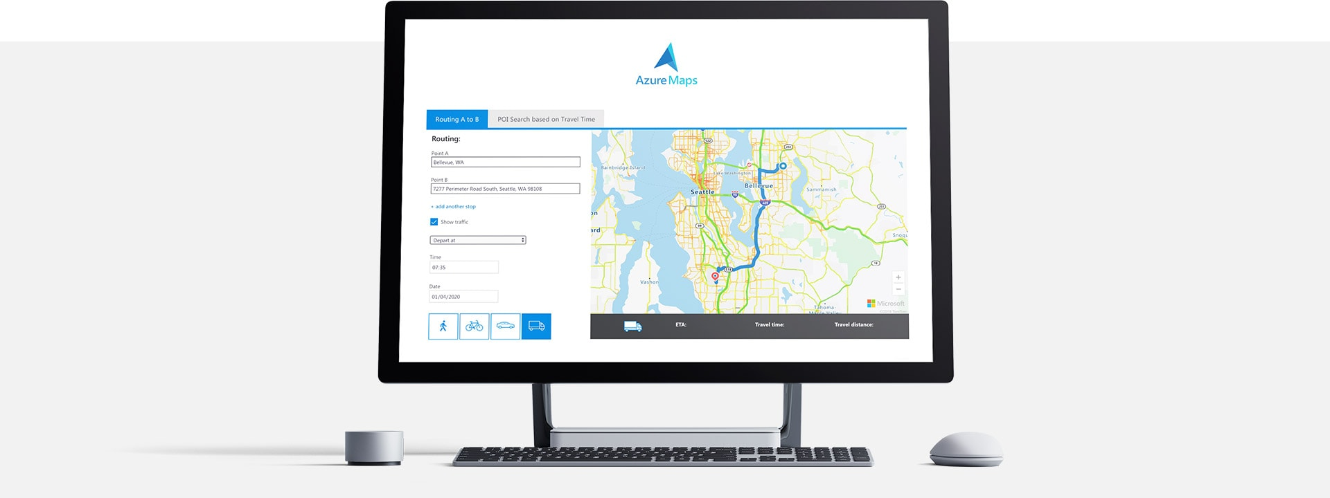Microsoft Azure Maps
