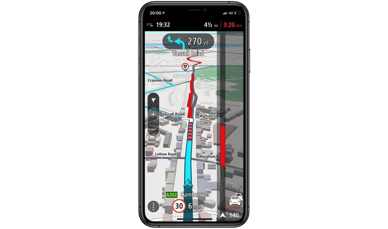 Real-Time traffic TomTom Go Navigation App