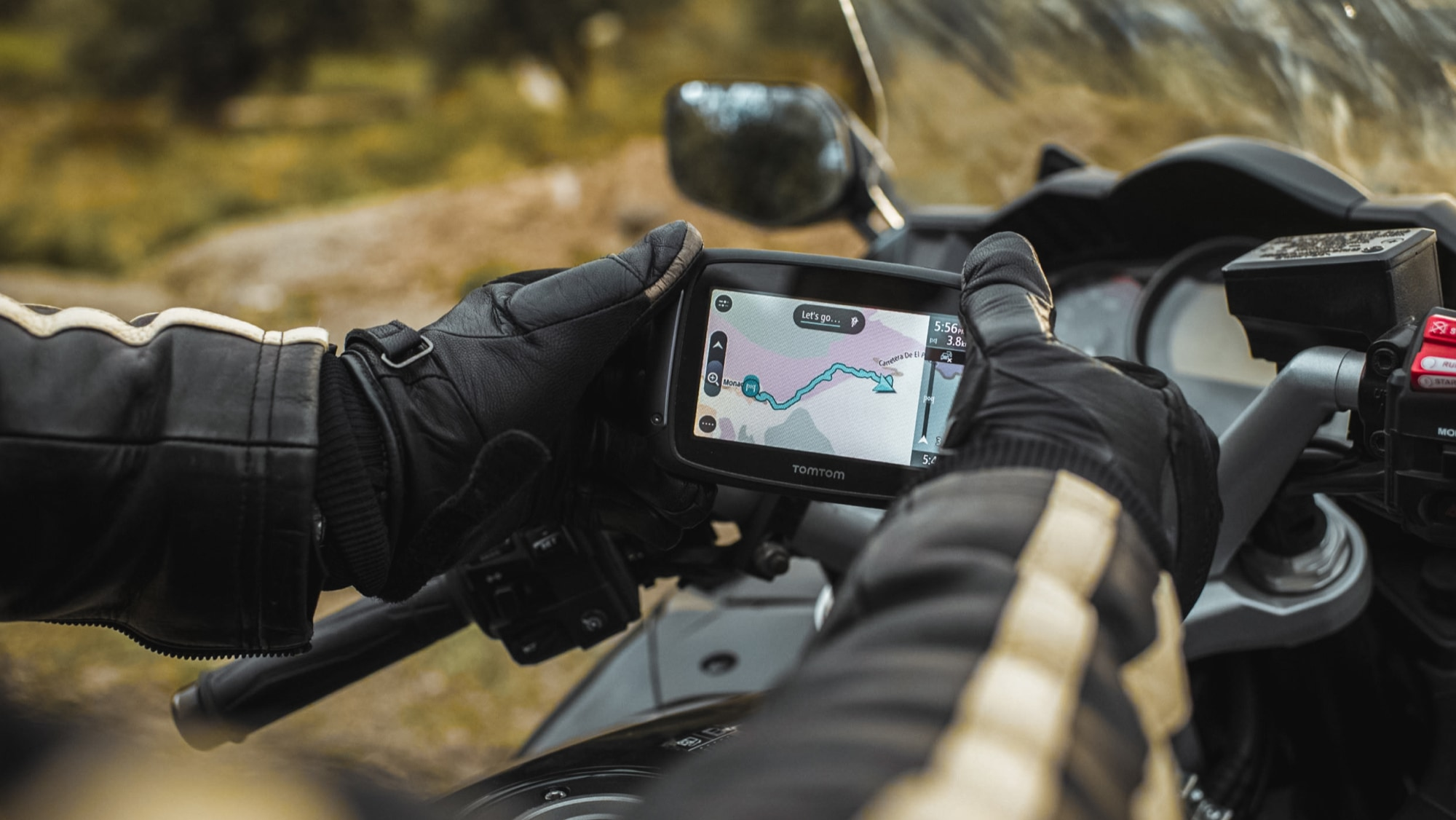 TomTom GO series updating maps and software via Wi-Fi, no computer needed
