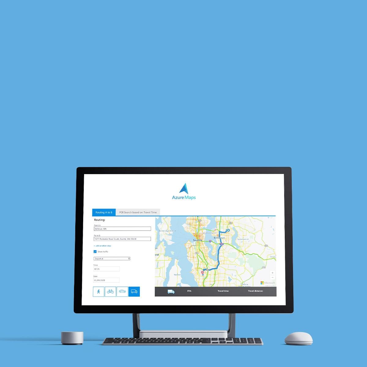 Microsoft Azure and TomTom