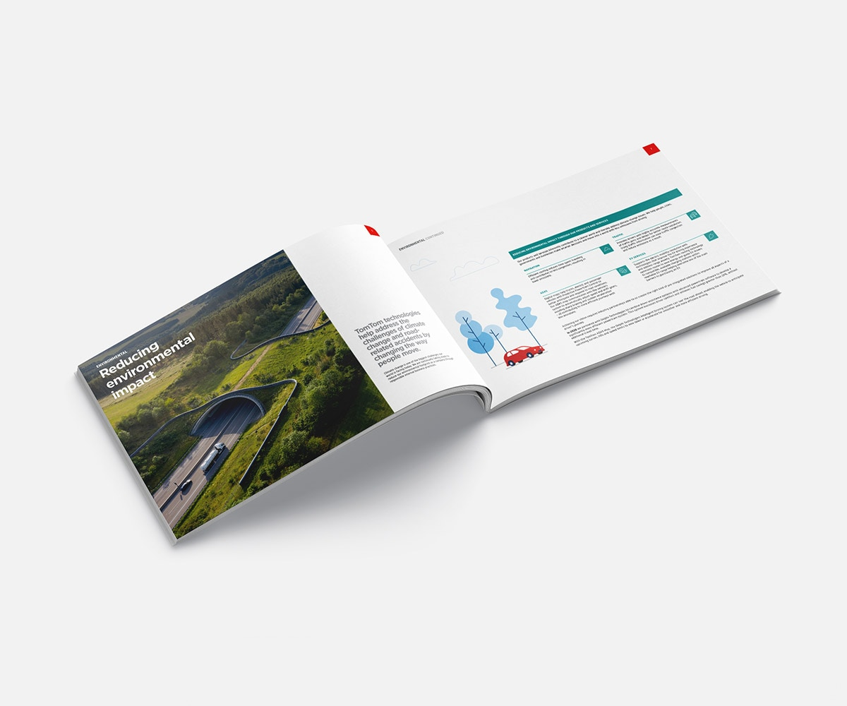 TomTom 2020 corporate responsibility report