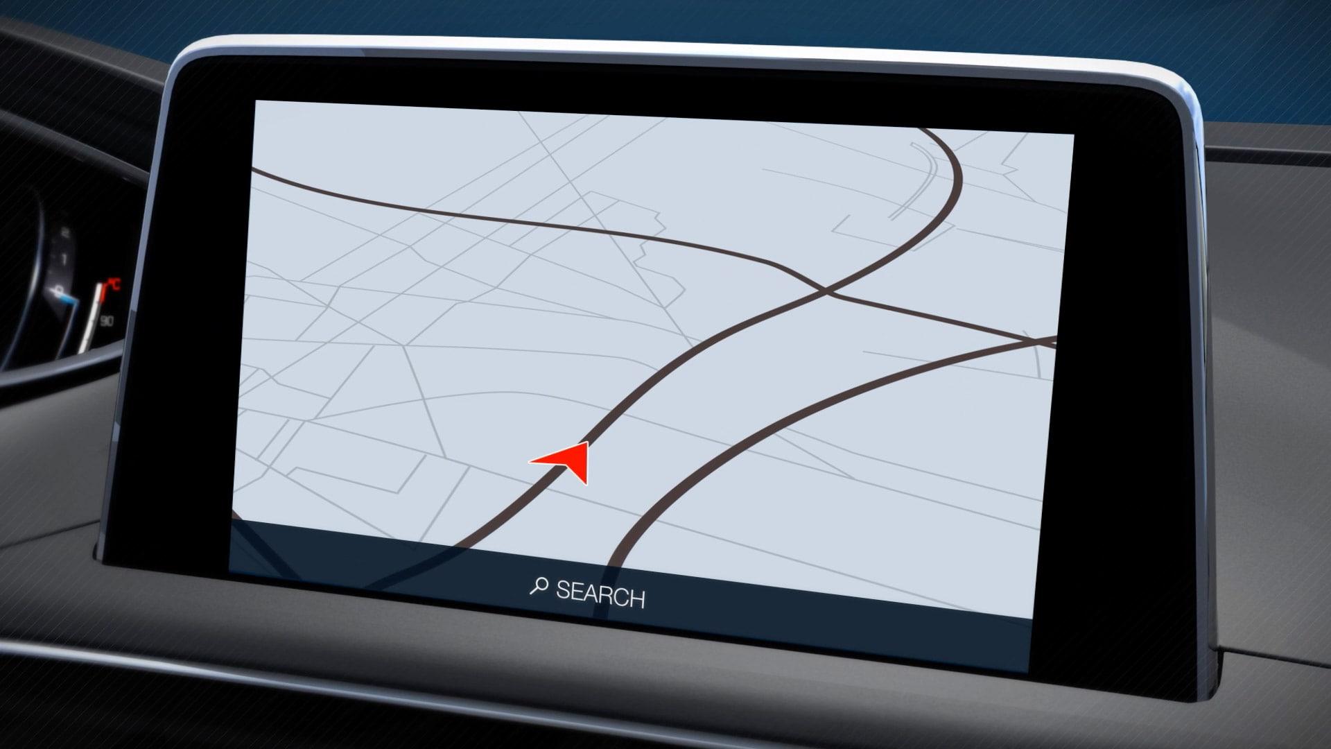 Peugeot 3D connected nav services