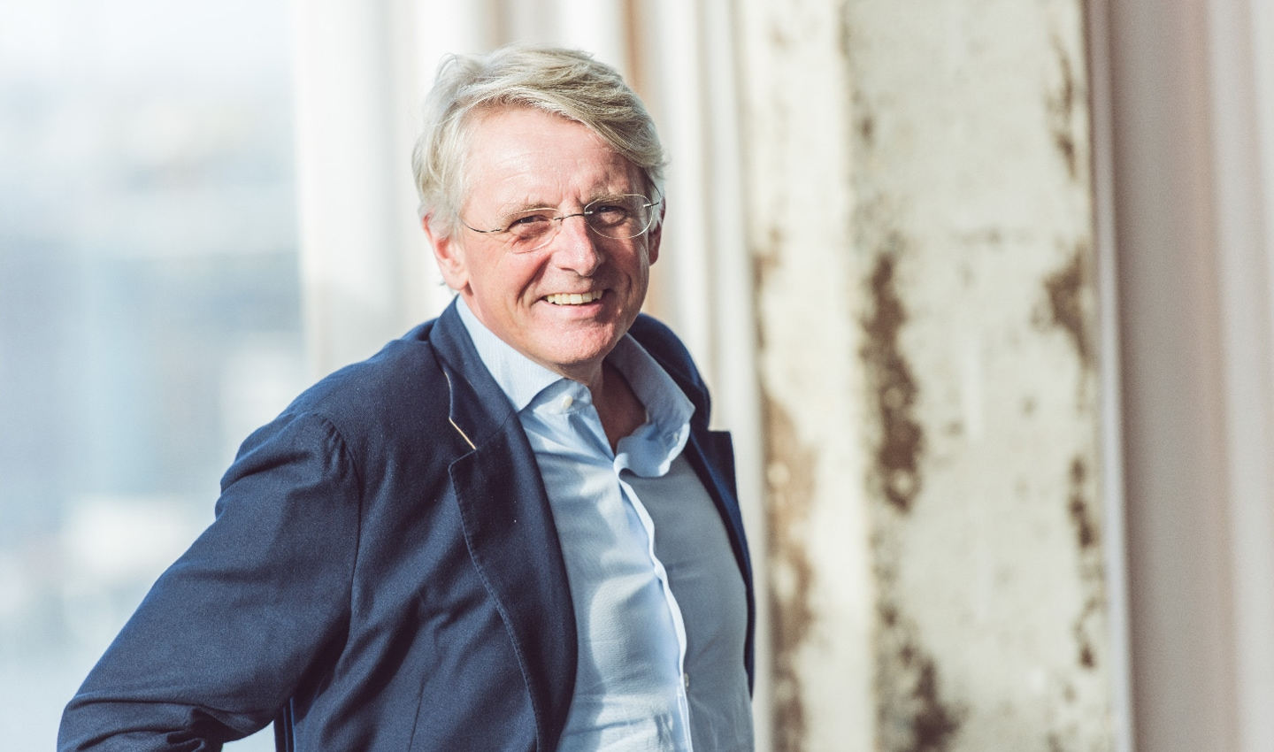 Harold Goddijn, CEO and one of four co-founders that started TomTom in 1991.