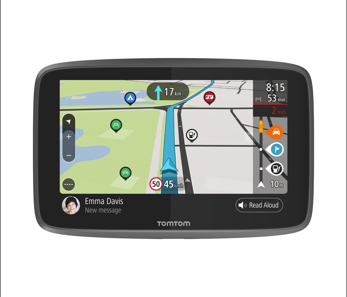 TomTom GPS Camper Navigation GO Camper