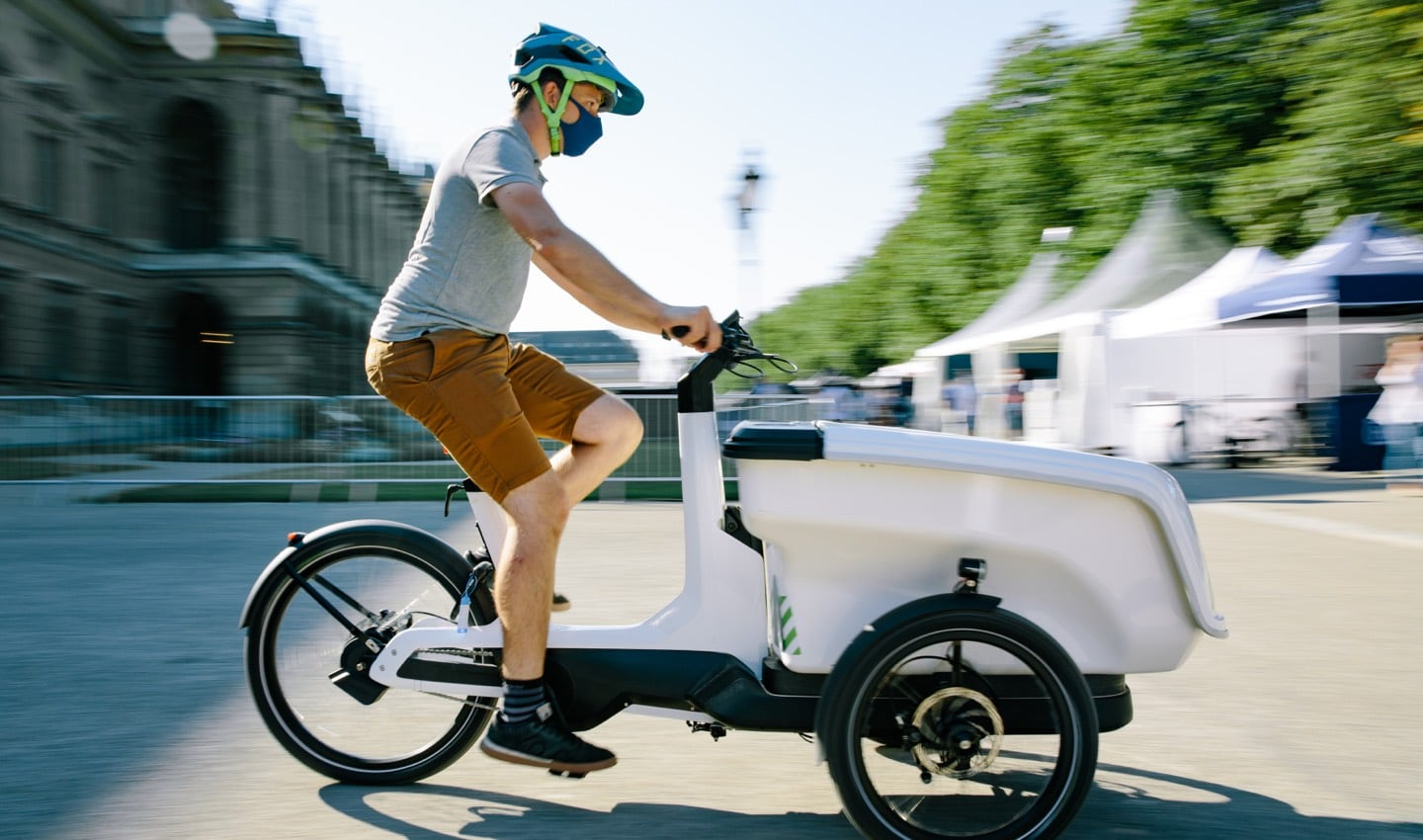 Ebikes got a lot of attention at this year's IAA. With space to test the machines, visitors were able to get hands on.