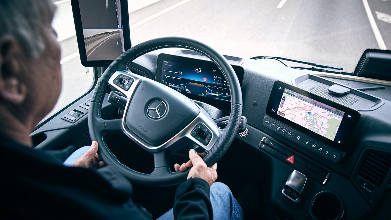 Daimler in-dash