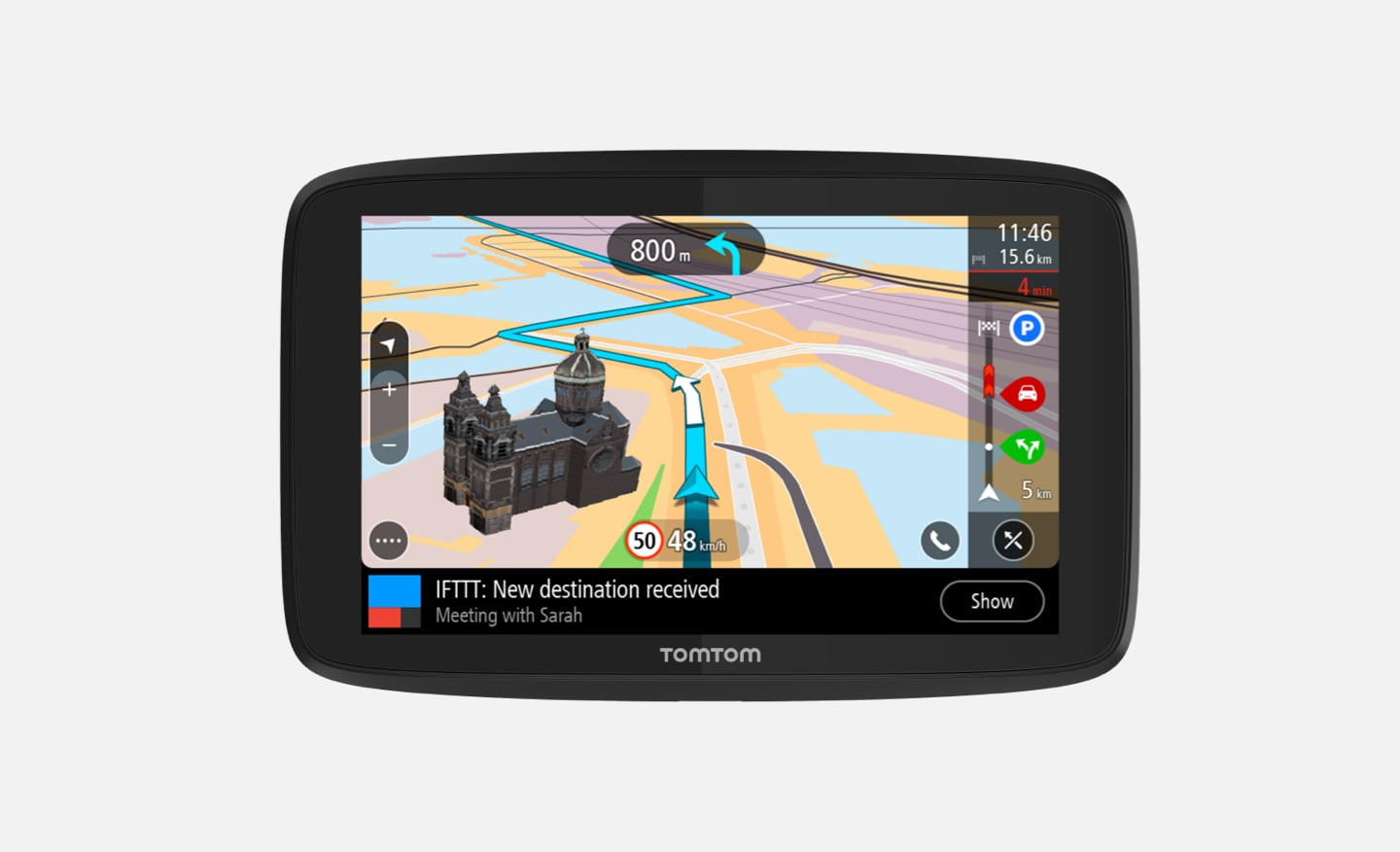 TomTom GPS Car Navigation GO Supreme