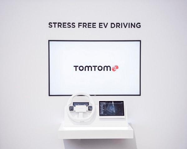 TomTom EV driving demo in IAA 2019