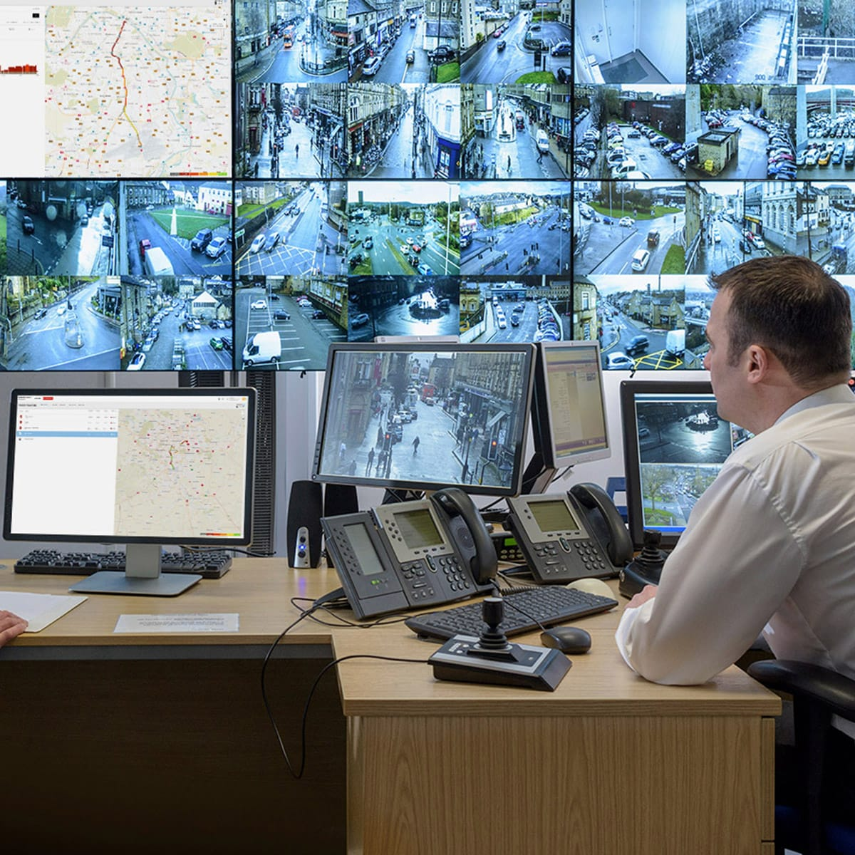 Route Monitoring: Traffic and travel times on key routes