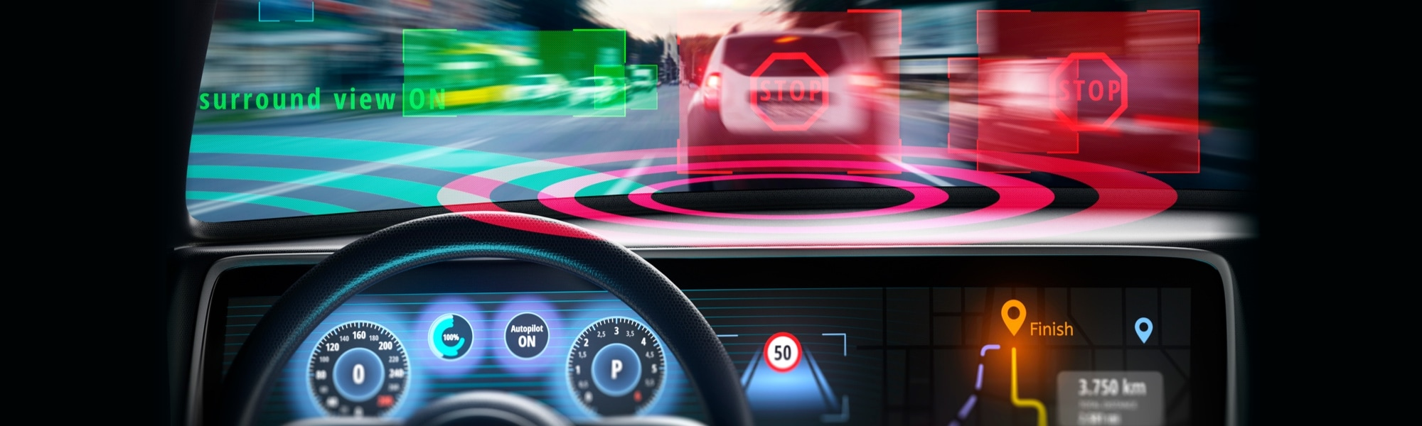 What is a digital cockpit? The future of in-vehicle infotainment