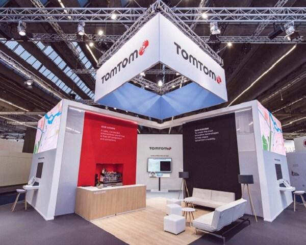 TomTom's stand in IAA 2019 – Frankfurt Motor Show