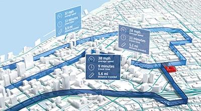 Route reconstruction