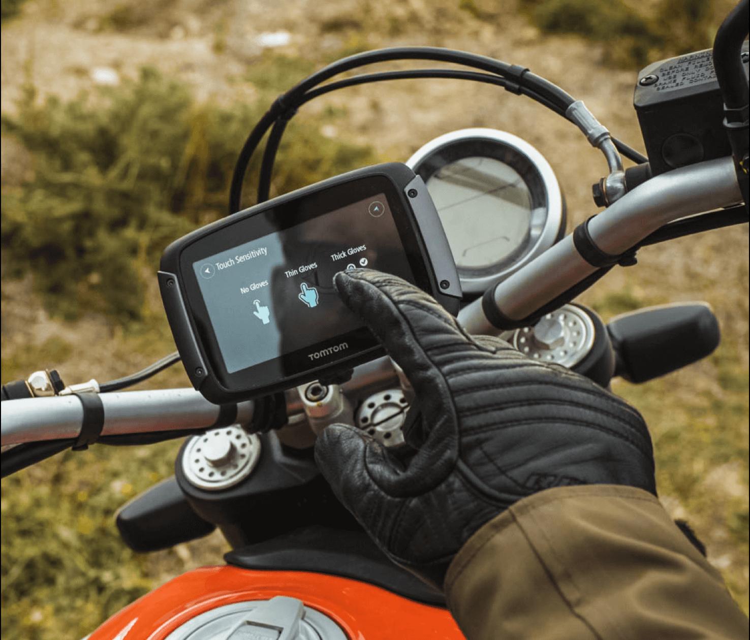 TomTom GPS Motorcycle Navigation Rider