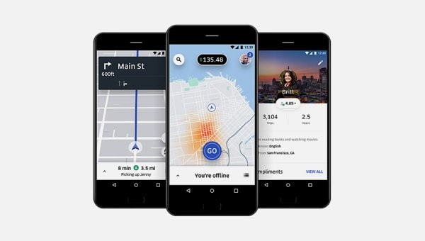 TomTom and Uber