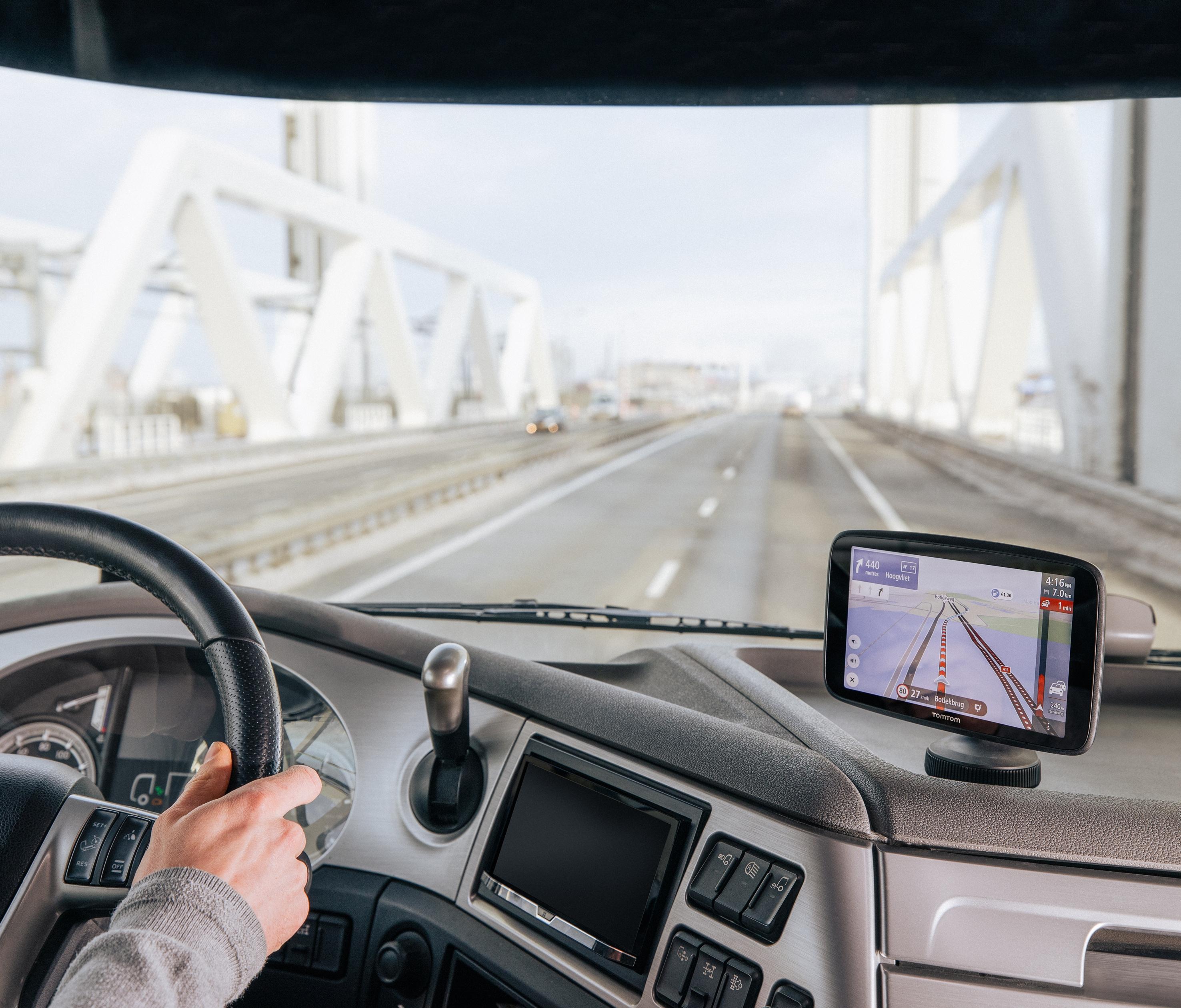 TomTom Truck GPS Navigation GO Expert