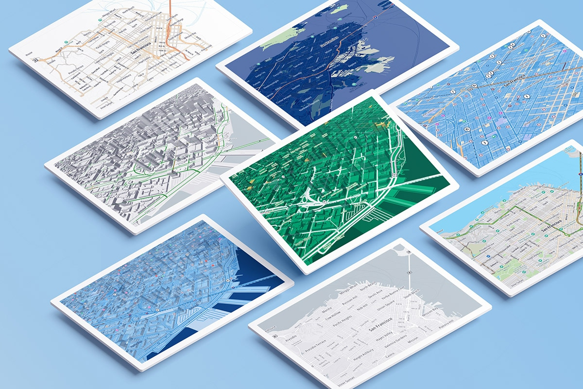 Customized maps