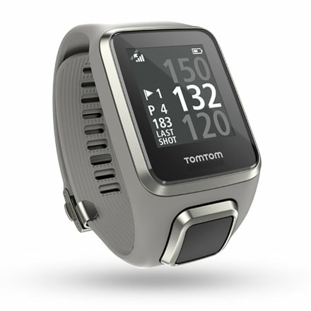 TomTom Golfer 2 GPS Watch – Light Grey – Large