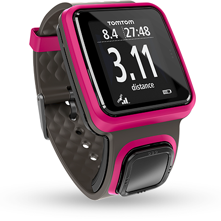 Discover the TomTom Runner GPS watch — see your detailed running metrics at-a-glance.