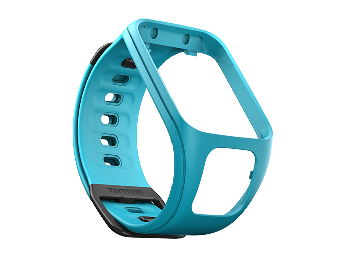 watch strap scuba blue small