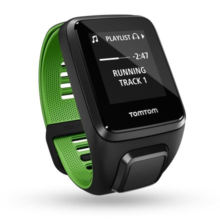 TomTom Runner 3 Cardio + Music Black/Green (S)