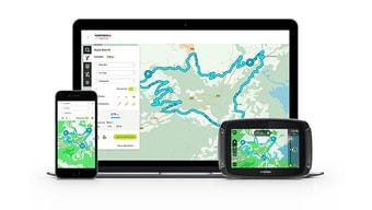Plánování trasy pro motocykly vaplikaci MyDrive