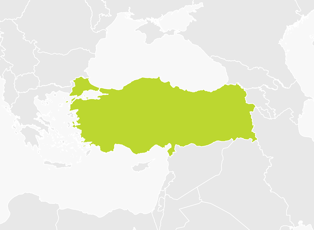 Map of Turkey
