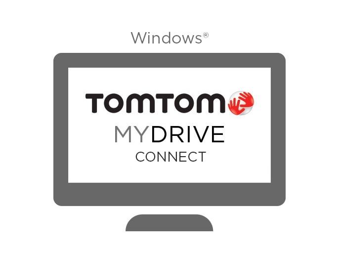 MyDrive app for Windows®
