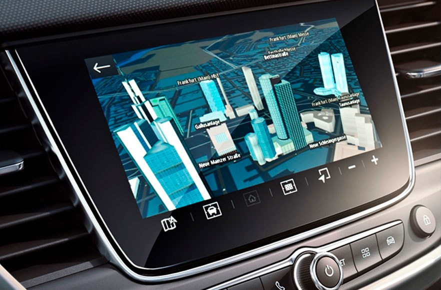 Vauxhall 3D Navigation Systems