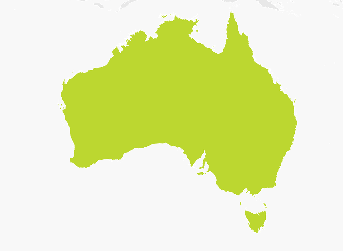 Map of Australia | TomTom