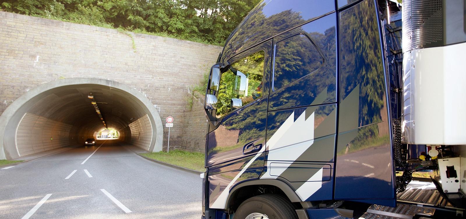kamion GPS karte