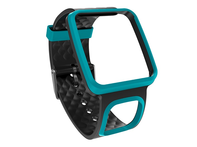 gps watch strap turquoise