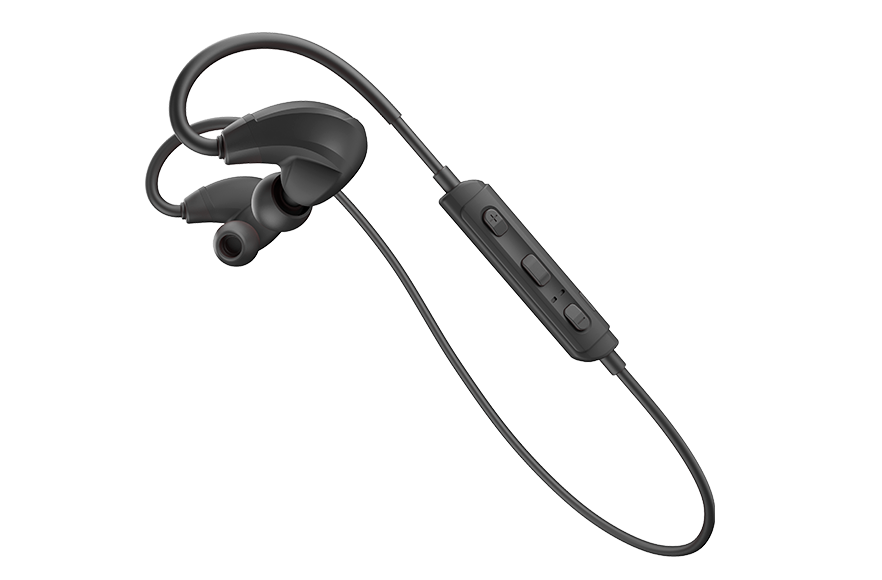 Sports Bluetooth-headset (svart)